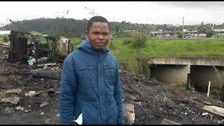 SOUTH AFRICA - Durban - Jika Joe settlement (Video) (Mqw)