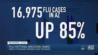 Flu hitting Arizona hard this season