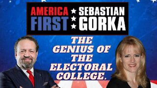 The genius of the Electoral College. Tara Ross with Sebastian Gorka on AMERICA First