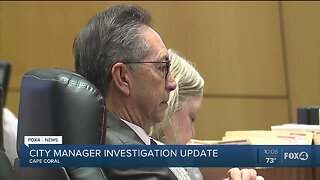 City Manager investigation update
