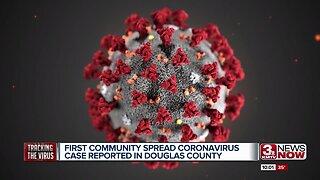 First Community Spread Case of Coronavirus