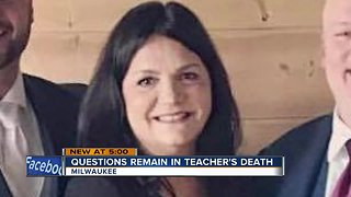 Questions remain in teacher's death