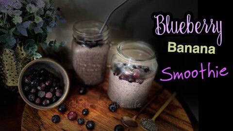 Blueberry Banana Smoothie