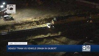 Deadly train crash in Gilbert