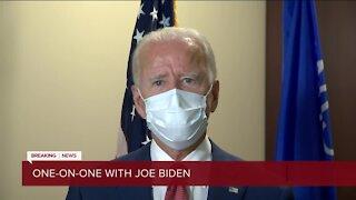 Biden's message to law enforcement
