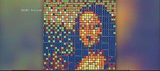 Rubik's Cube Mona Lisa up for auction