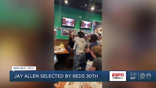 Reds select Jay Allen with 30th pick in MLB Draft
