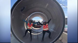 What's Driving You Crazy?: Drain pipe project closes road