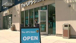 We're Open: A local UPS stays open amid coronavirus pandemic