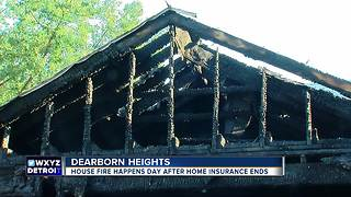 Dearborn Heights house fire happens day after home insurance ends