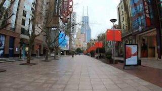 Coronavirus has turned Shanghai into a ghost town
