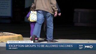 Local vaccine updates