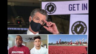 Group Of Student Athletes Sue California Governor Gavin Newsom Over High School Sports Ban