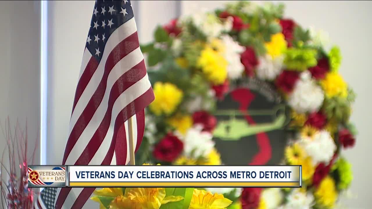Veterans Day celebrations across metro Detroit
