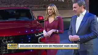 Only on 7: Exclusive interview with General Motors President Mark Reuss