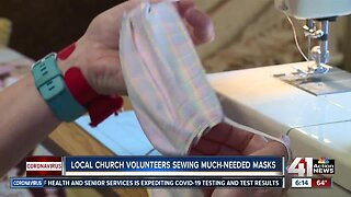 Missouri church makes face masks for health care workers