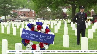 Church holds drive-thru Memorial Day cookout