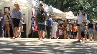 Arts and crafts festival underway in Delray Beach