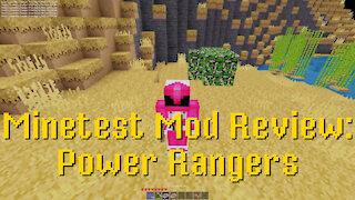 Minetest Mod Review: Power Rangers