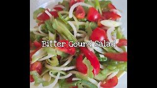 Bitter Gourd Salad / Bitter Melon Salad Recipe