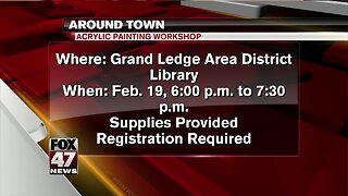 Around Town - Acrylic Painting Workshop - 2/18/20