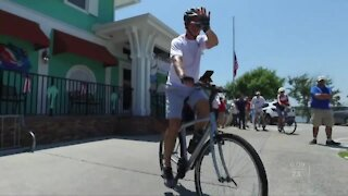 Steve's Ride for the Red Cross kicks off today