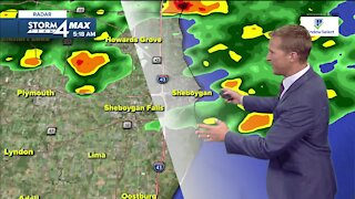 Cooler temperatures Wednesday with chances of showers