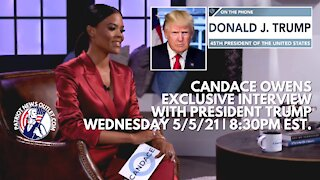 Candace Owens Speaks With President Trump