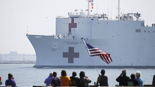 USNS Comfort Discharges Last COVID-19 Patient, Leaves NYC