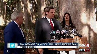 Desantis allows medical marijuana