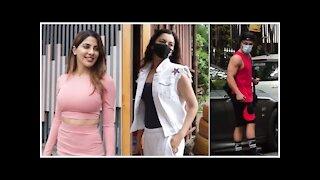 Asim Riaz, Gauahar Khan & Nikki Tamboli Snapped Across Town