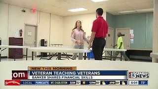 Las Vegas veteran teaching other veterans
