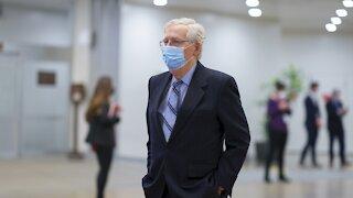 Sen. Mitch McConnell Encourages Republican Men To Get Vaccine