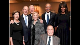 Four Former Presidents & Their Wives