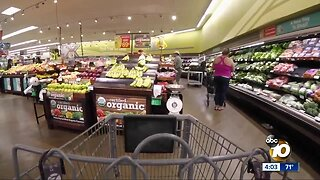 San Diego grocery workers rally for better pay, health care