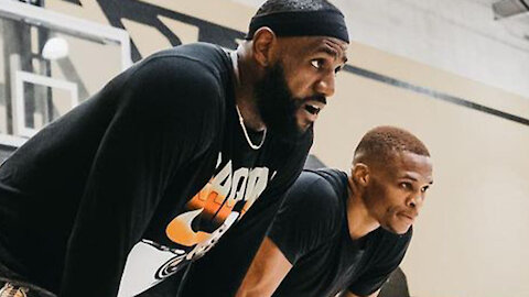LeBron James FINALLY Addresses Haters That DOUBT He & Russell Westbrook Can Win Together