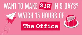 Get paid to watch 'The Office'
