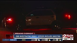 Suspect shot and killed by Sand Springs Police officer