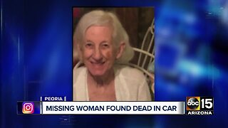 Missing woman believed to be found dead in car