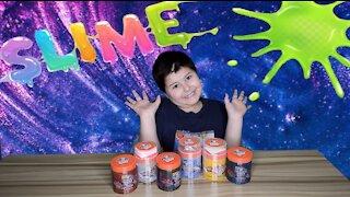 Super Fun Slime, Elmer's Glue Slime Unboxing & Review