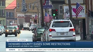Howard County eases additional restrictions