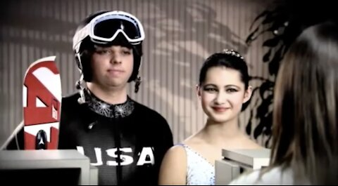 Winter Olympics TV Commercial