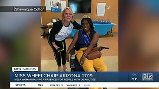 Miss Wheelchair Arizona 2019 inspiring others
