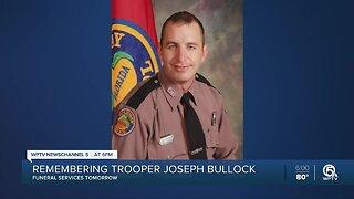 Memorial service Thursday for fallen FHP Trooper Joseph Bullock