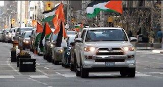 "Toronto Protest: ""Viva, Viva Intifada, Free Palestine"""