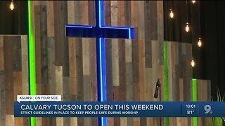 Calvary Tucson to open it's door over the weekend