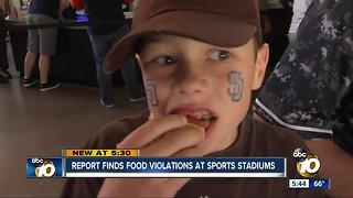 ESPN report finds food violations at sports stadiums