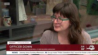 Woman in Olde Town Arvada describes shooting
