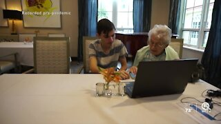 Palm Beach County teen helps seniors with technology during COVID-19 pandemic
