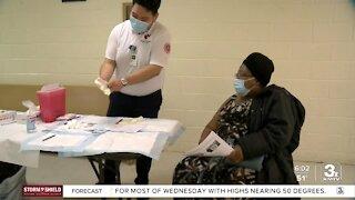 Coronavirus vaccine clinic held in North Omaha